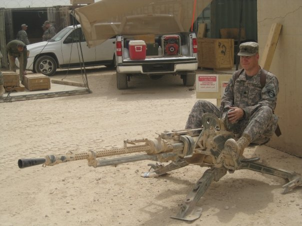 Mississippi Col. J. Trent Kelly while on deployment to Iraq. (Courtesy)